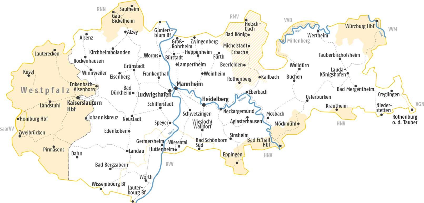 Baden Wurttemberg Karte Db.Vrn Maxx Ticket