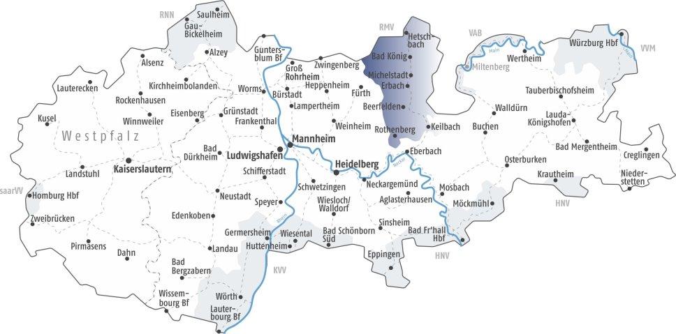 Vrn Ubergang Zum Rhein Main Verkehrsverbund Rmv