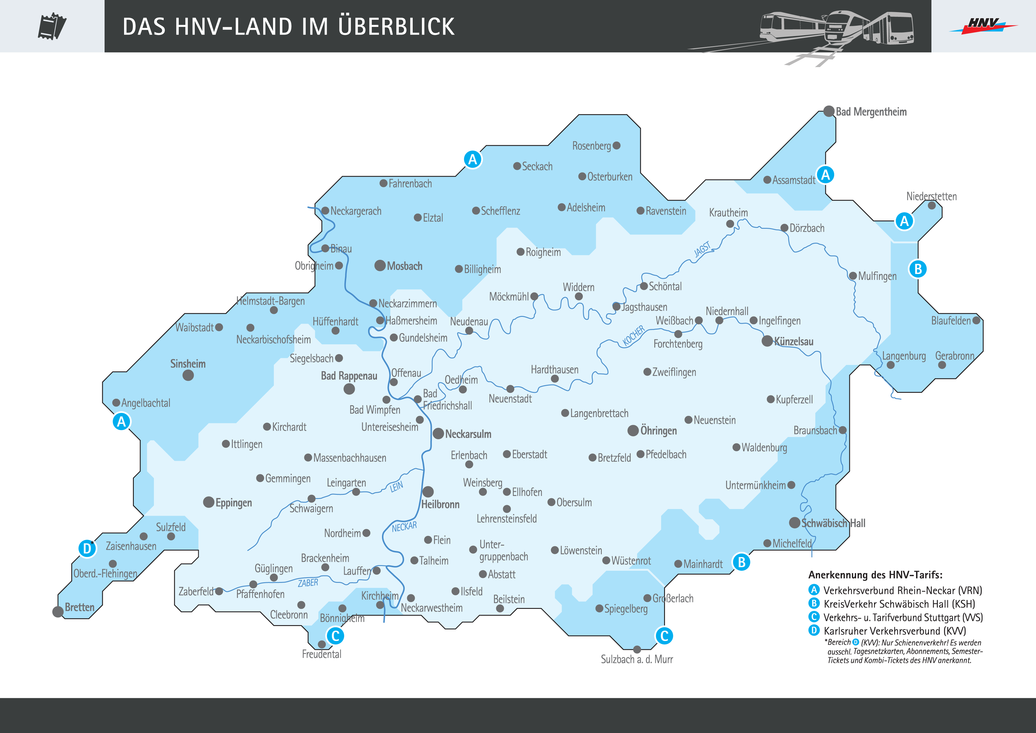 vrn karte VRN | Übergang zum Heilbronner Hohenloher Haller Nahverkehr GmbH (HNV)